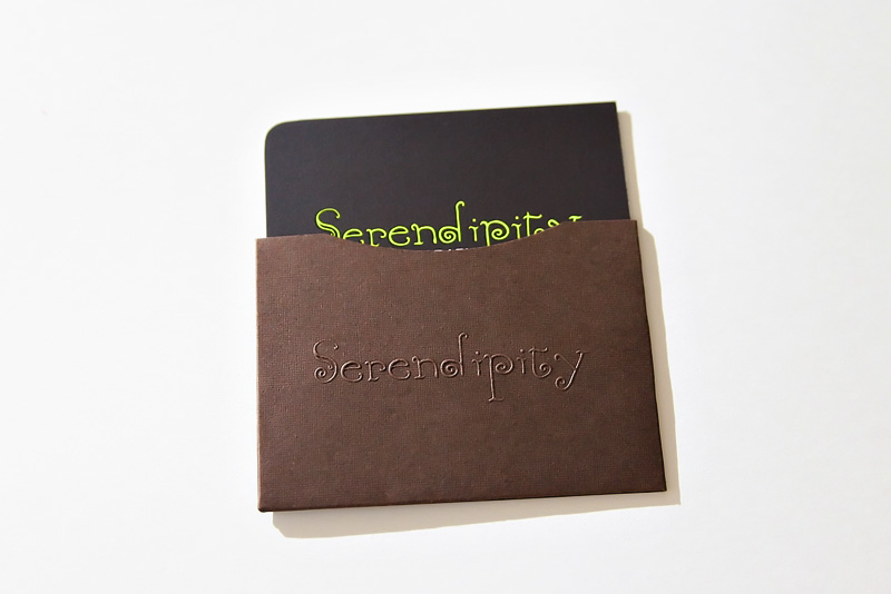 New Business Cards Serendipity graphy – Houston