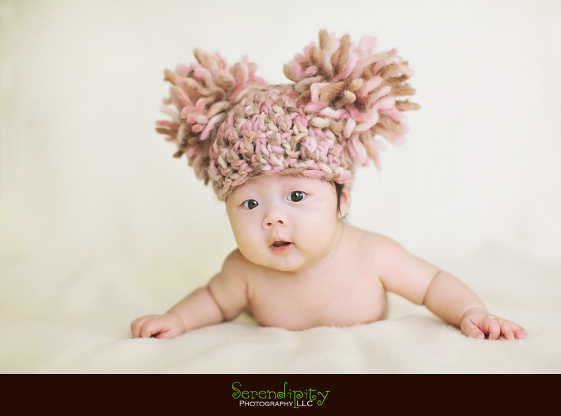 3 month baby portraits of lauren serendipity photography houston