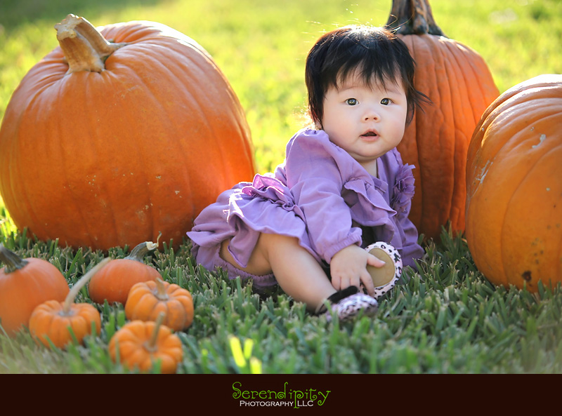 First Halloween Costume And Pumpkin Patch Experience