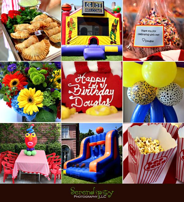 Birthday Party Photography Jakarta: Houston Children's Birthday Party Photography