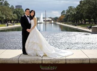 Hermann Park Houston Formal Engagement Session Photography Sese Ninh